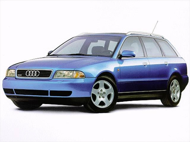 Highest Horsepower Wagons of 1998 - 1998 Audi A4