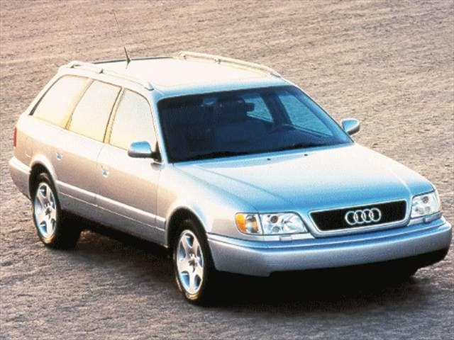 Highest Horsepower Wagons of 1998 - 1998 Audi A6