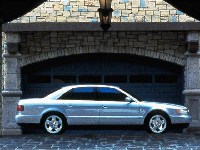 Highest Horsepower Luxury Vehicles of 1998 - 1998 Audi A8