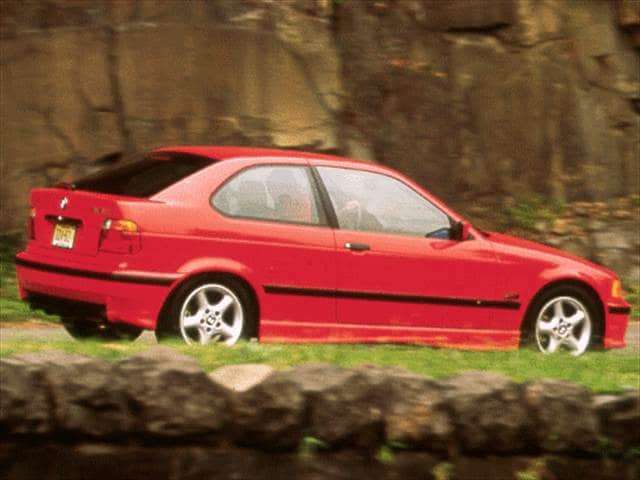Top Consumer Rated Hatchbacks of 1998 - 1998 BMW 3 Series