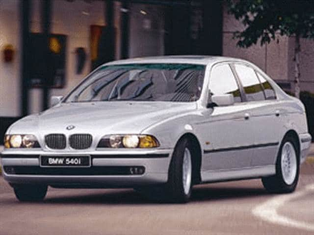 Most Popular Luxury Vehicles of 1998 - 1998 BMW 5 Series