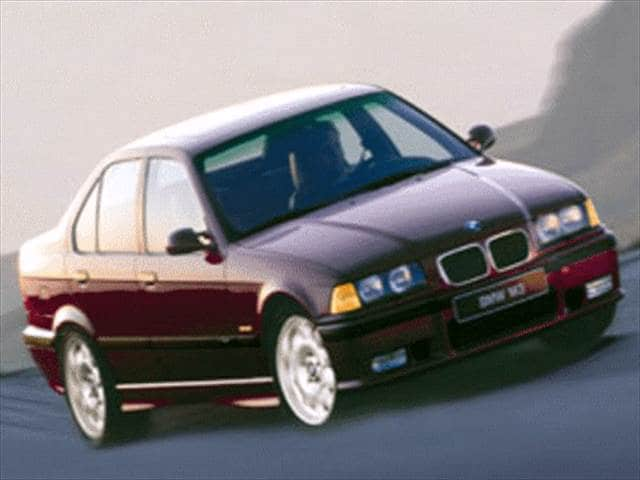 Top Consumer Rated Sedans of 1998 - 1998 BMW M3