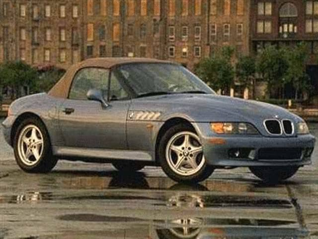 Most Fuel Efficient Luxury Vehicles of 1998 - 1998 BMW Z3