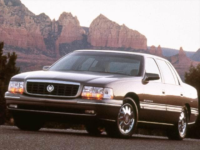 Highest Horsepower Sedans of 1998 - 1998 Cadillac DeVille