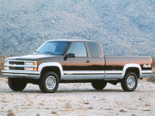 Most Popular Trucks of 1998 - 1998 Chevrolet 1500 Extended Cab