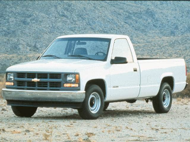 Highest Horsepower Trucks of 1998 - 1998 Chevrolet 1500 Regular Cab