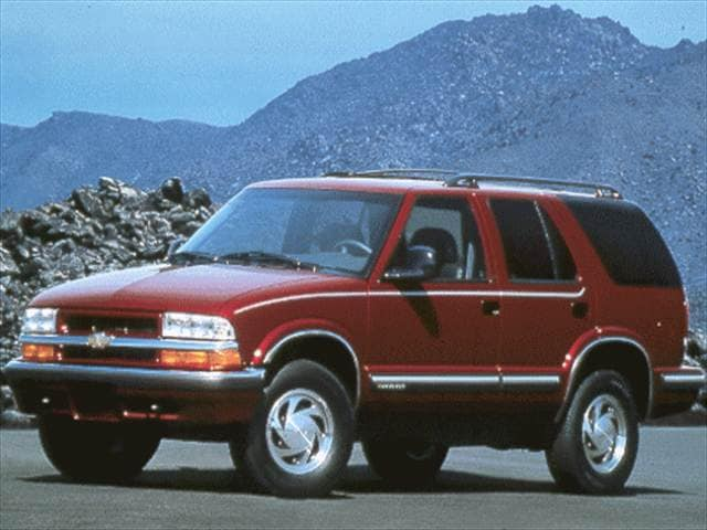 Most Popular SUVs of 1998 - 1998 Chevrolet Blazer