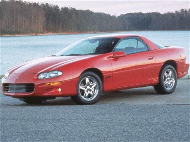Highest Horsepower Hatchbacks of 1998 - 1998 Chevrolet Camaro