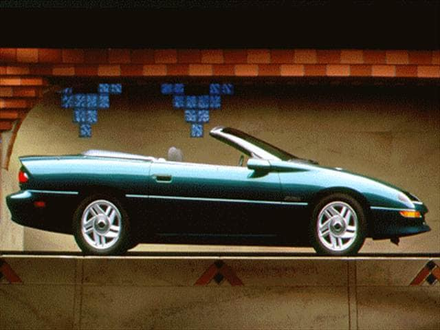 Most Popular Convertibles of 1998 - 1998 Chevrolet Camaro