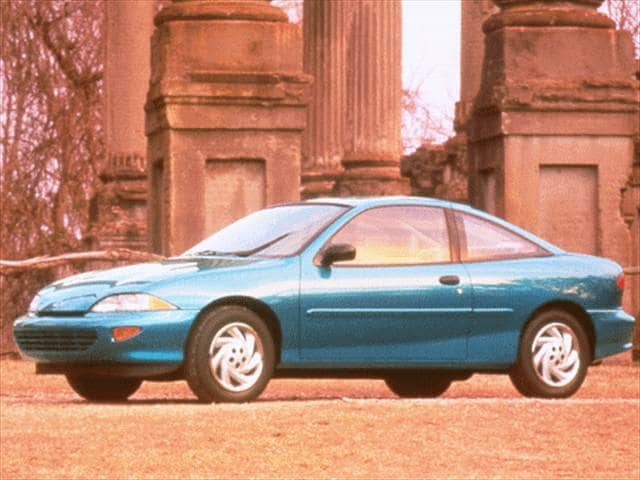 Most Popular Coupes of 1998 - 1998 Chevrolet Cavalier