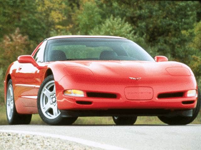 Highest Horsepower Hatchbacks of 1998 - 1998 Chevrolet Corvette