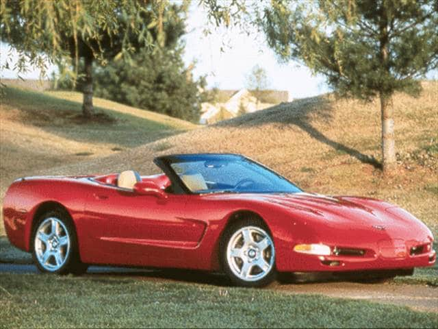 Top Consumer Rated Convertibles of 1998 - 1998 Chevrolet Corvette