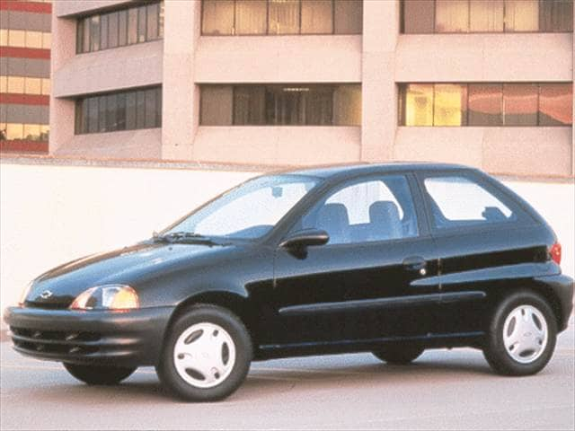 Most Fuel Efficient Hatchbacks of 1998 - 1998 Chevrolet Metro