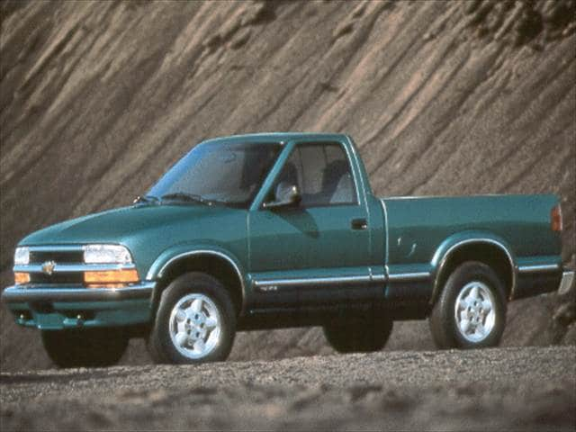 Most Fuel Efficient Trucks of 1998 - 1998 Chevrolet S10 Regular Cab