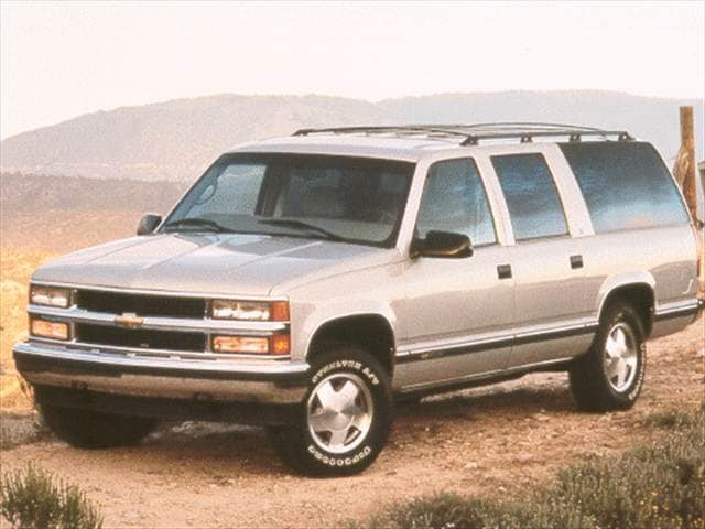 Highest Horsepower SUVs of 1998 - 1998 Chevrolet Suburban 1500
