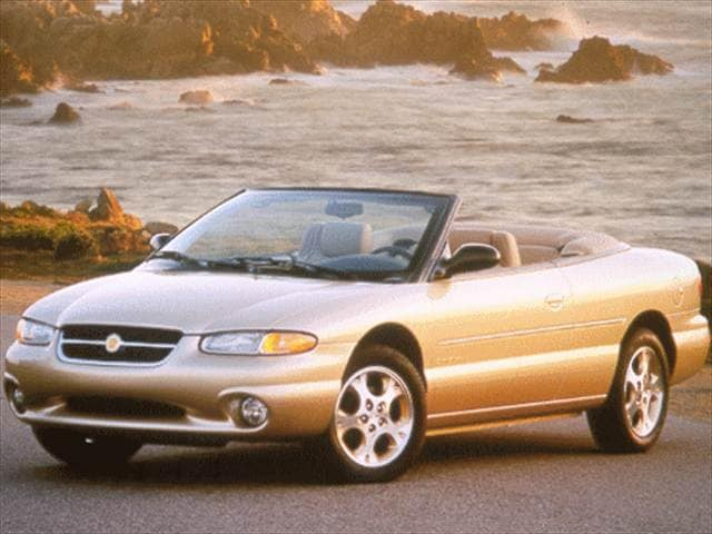 Most Popular Convertibles of 1998 - 1998 Chrysler Sebring