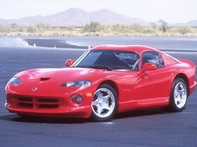 Highest Horsepower Coupes of 1998 - 1998 Dodge Viper