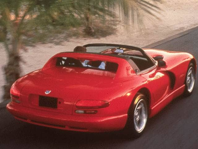 Highest Horsepower Convertibles of 1998 - 1998 Dodge Viper