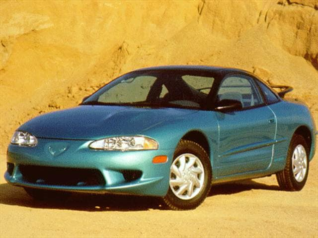 Highest Horsepower Hatchbacks of 1998 - 1998 Eagle Talon