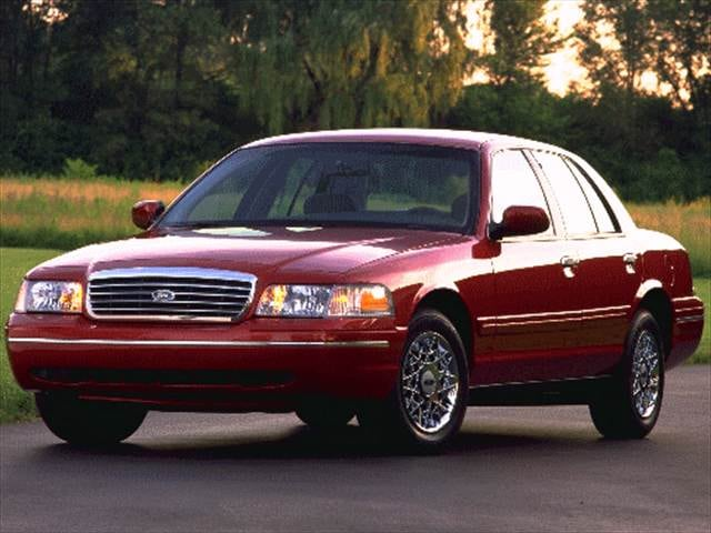 Top Consumer Rated Sedans of 1998 - 1998 Ford Crown Victoria