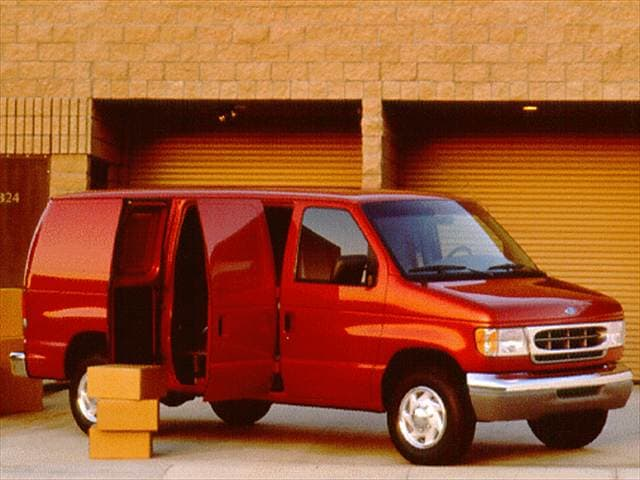 Most Popular Vans/Minivans of 1998 - 1998 Ford Econoline E150 Cargo
