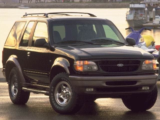 Most Popular SUVs of 1998 - 1998 Ford Explorer