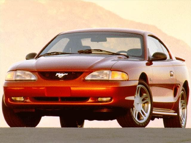 Most Popular Coupes of 1998 - 1998 Ford Mustang