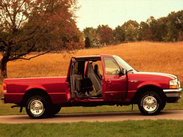 Most Fuel Efficient Trucks of 1998 - 1998 Ford Ranger Super Cab