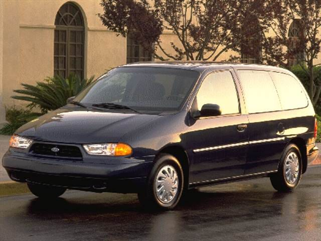 Most Fuel Efficient Vans/Minivans of 1998 - 1998 Ford Windstar Passenger