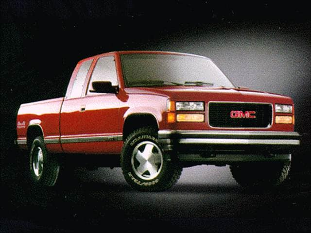 Highest Horsepower Trucks of 1998 - 1998 GMC 2500 HD Club Coupe