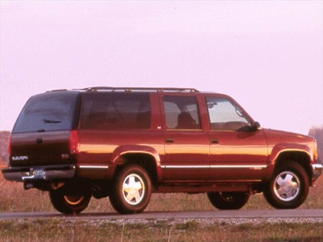 Highest Horsepower SUVs of 1998 - 1998 GMC Suburban 2500