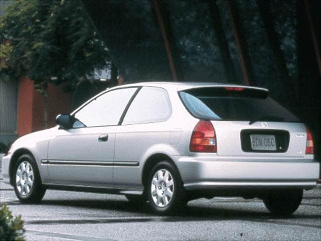 Most Popular Hatchbacks of 1998 - 1998 Honda Civic