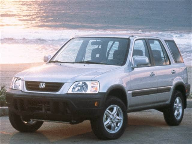 Most Popular Crossovers of 1998 - 1998 Honda CR-V