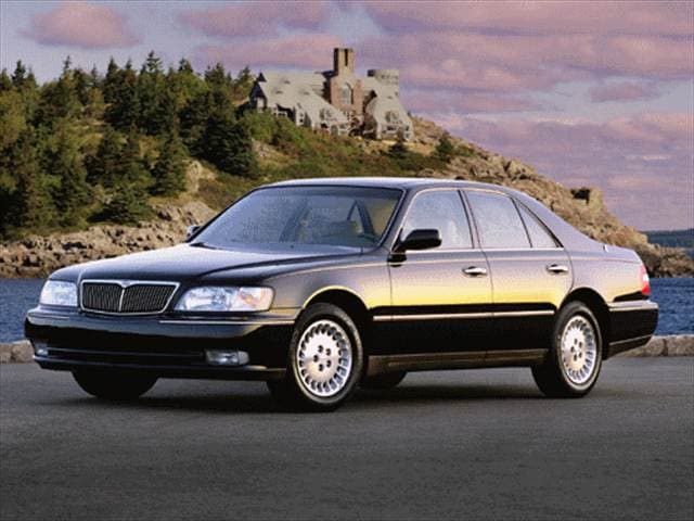 Top Consumer Rated Luxury Vehicles of 1998 - 1998 INFINITI Q