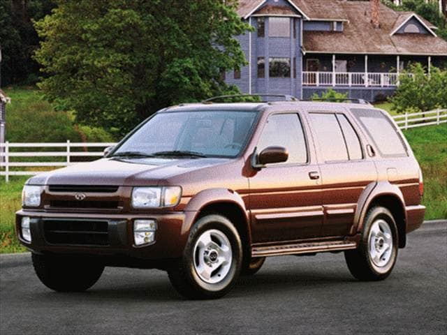Top Consumer Rated SUVs of 1998 - 1998 INFINITI QX