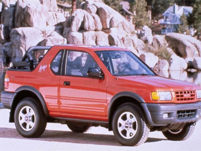 Most Fuel Efficient SUVs of 1998 - 1998 Isuzu Amigo