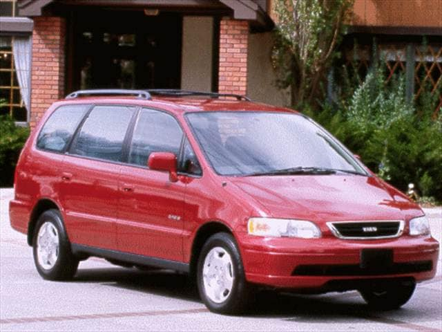 Most Fuel Efficient Vans/Minivans of 1998 - 1998 Isuzu Oasis