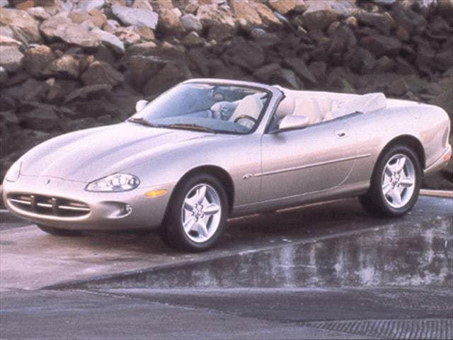 Highest Horsepower Convertibles of 1998 - 1998 Jaguar XK