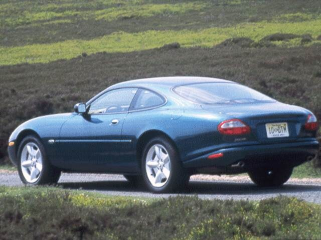 Highest Horsepower Coupes of 1998 - 1998 Jaguar XK