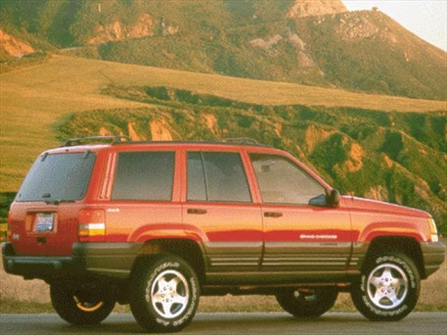 Most Popular SUVs of 1998 - 1998 Jeep Grand Cherokee