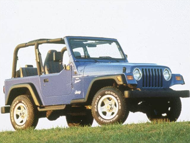 Most Popular SUVs of 1998 - 1998 Jeep Wrangler