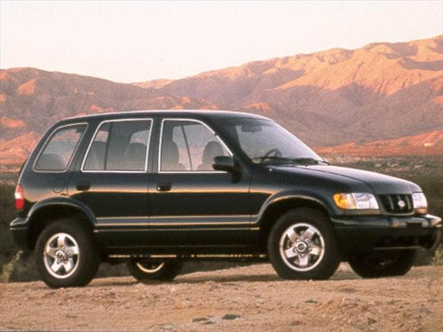 Highest Horsepower Crossovers of 1998 - 1998 Kia Sportage