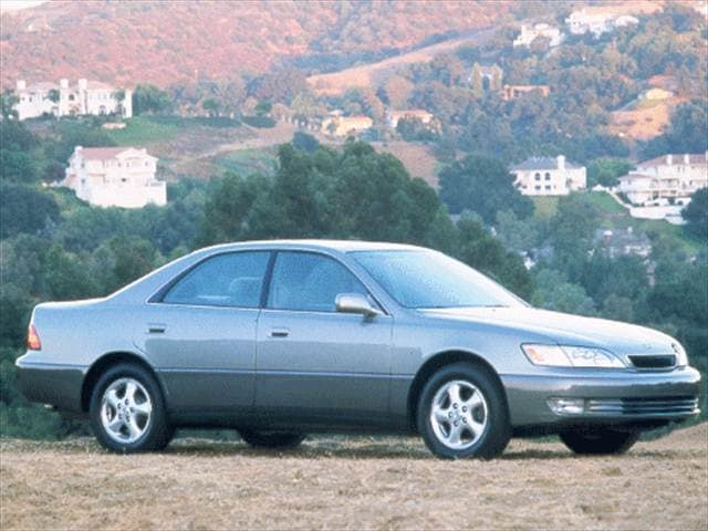 Top Consumer Rated Sedans of 1998 - 1998 Lexus ES