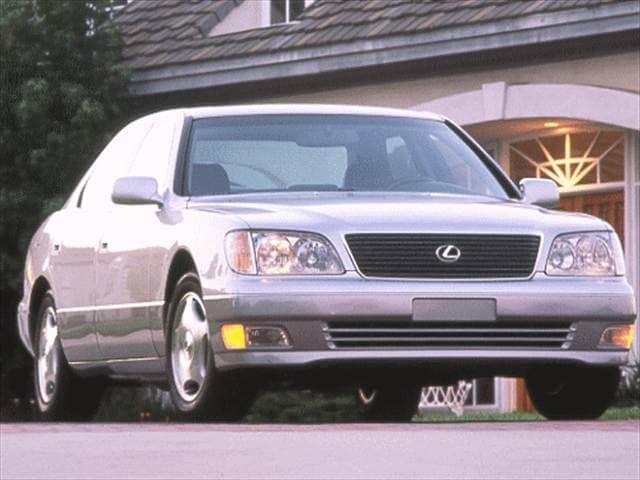 Highest Horsepower Sedans of 1998 - 1998 Lexus LS