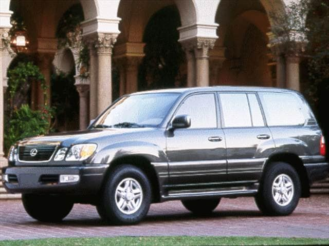 Top Consumer Rated SUVs of 1998 - 1998 Lexus LX