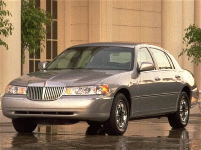 1998 Lincoln Town Car Cartier Sedan 4d Used Prices Kelley Blue Book