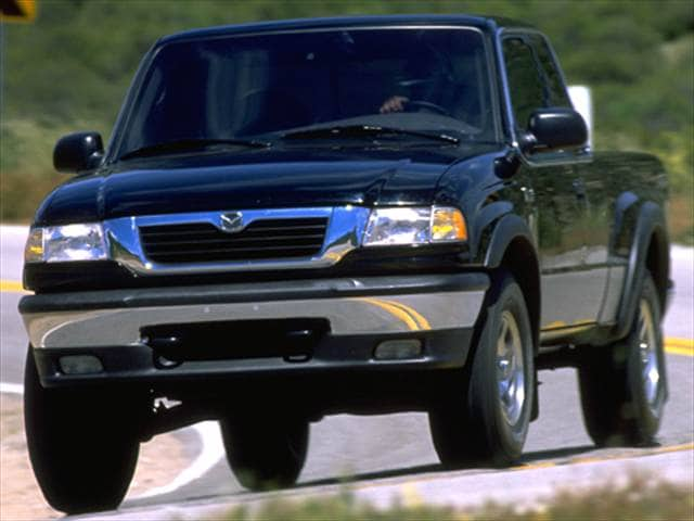 Most Fuel Efficient Trucks of 1998 - 1998 Mazda B-Series Regular Cab
