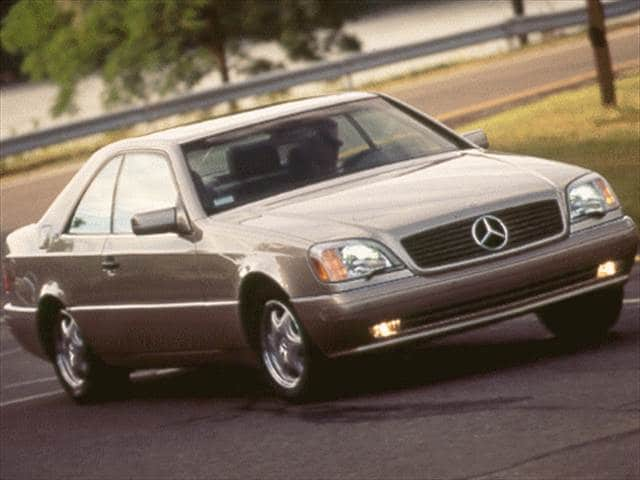 Top Consumer Rated Luxury Vehicles of 1998 - 1998 Mercedes-Benz CL-Class