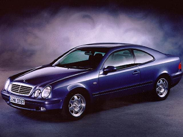 Most Fuel Efficient Luxury Vehicles of 1998 - 1998 Mercedes-Benz CLK-Class