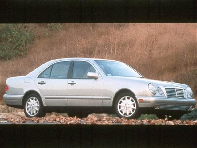 Most Popular Luxury Vehicles of 1998 - 1998 Mercedes-Benz E-Class